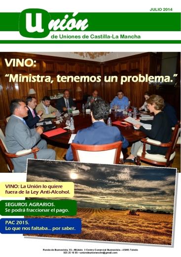 Portada Revista 03 Unión de Uniones de Castilla-La Mancha- julio 2014