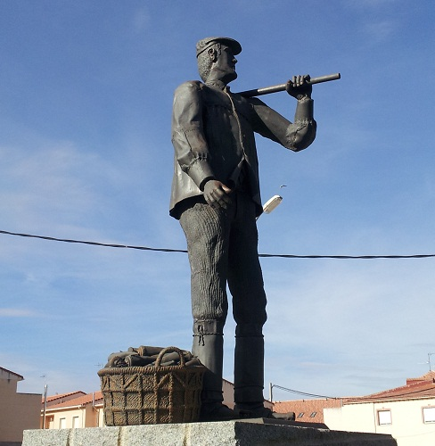 agricultor, estatua