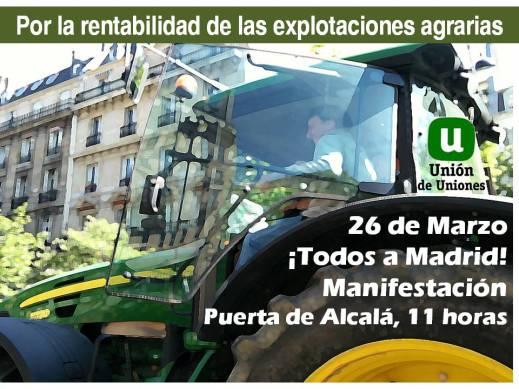 Manifestación 26 de marzo