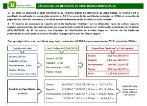 Aplicación coeficientes Orden MAGRAMA AAA/544/2015