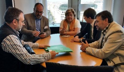 Unión de Uniones con Clara Eugenia Aguilera PSOE