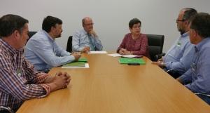 Reunión de la Unión de Uniones con el Grupo Socialista en el Congreso.