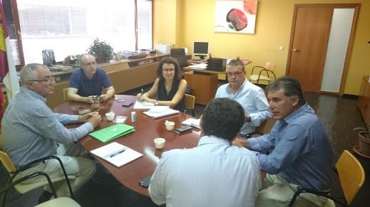 Reunión DG Industrias Agroalimentarias CLM