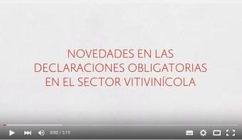 Declaraciones Obligatorias en el Sector Vitivinícola