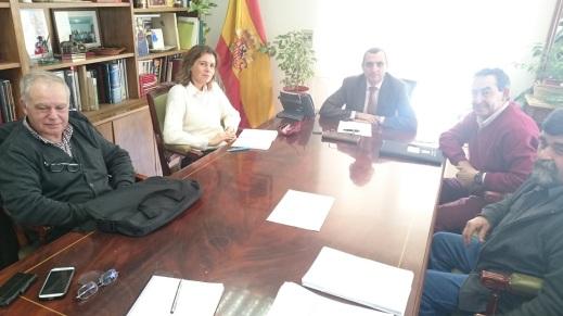 Reunión Dirección General Sanidad Producción Agraria