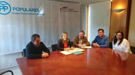 Reunión Unión de Uniones Grupo Popular Cortes CLM