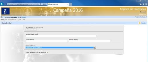 Aplicación PAC CLM 2016