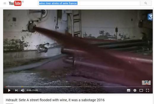 Ataque en Francia a vino español