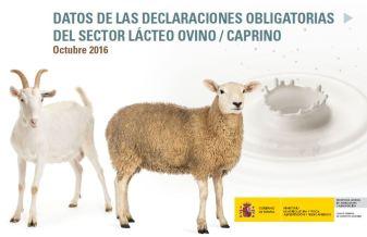 leche ovino caprino FEGA octubre 2016