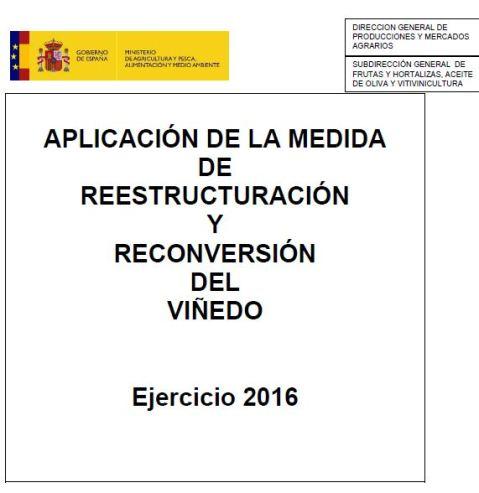 Ayudas a la Reestructuración de Viñedo