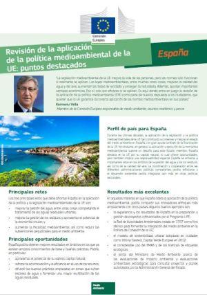 Política Medioambiental en España