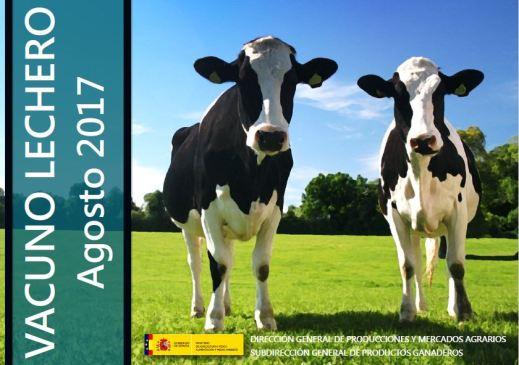 MAPAMA informe sector lácteo agosto 2017