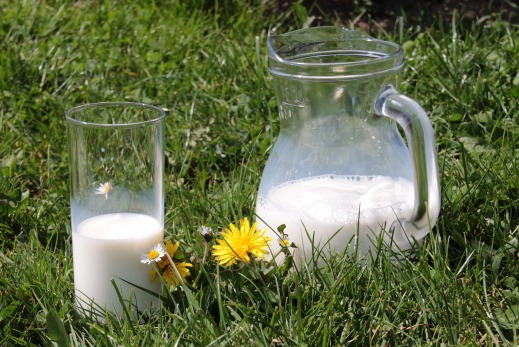 Etiquetado de la leche