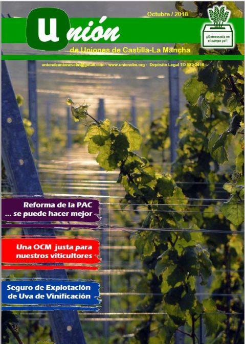 Revista Unión de Uniones Castilla-La Mancha Octubre 2018