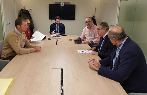 Reunión con José Ignacio Zoido, del Grupo Popular Europeo y miembre de la Comisión de Agricultura